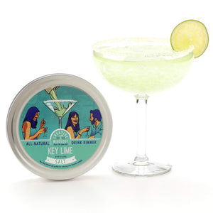 Load image into Gallery viewer, The Spice Lab All Natural Salt Cocktail Glass Rimmer & Finishing Salt for Martinis, Margaritas & Bloody Marys - Gluten Free Non-GMO No MSG Brand