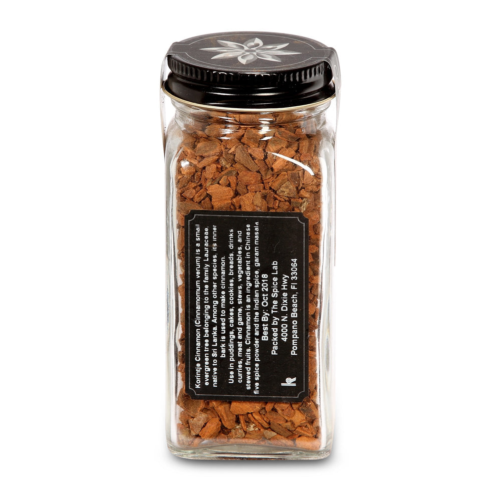 "Load image into Gallery viewer, The Spice Lab Cracked Indonesian Cassia Cinnamon ""Korintje"" - Kosher Gluten-Free Non-GMO All Natural Spice - 5195"