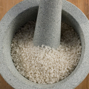 "Load image into Gallery viewer, French Gray Sea Salt - Light Grey (Coarse) - ""Sel Gris De Gurande"" French Sea Salt"