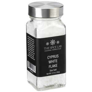 Load image into Gallery viewer, The Spice Lab Cyprus White Flake Kosher Salt - Perfect Flaky Sea Salt for Baking and Cooking - Gourmet All Natural Coarse Sea Salt as a Finishing Garnish