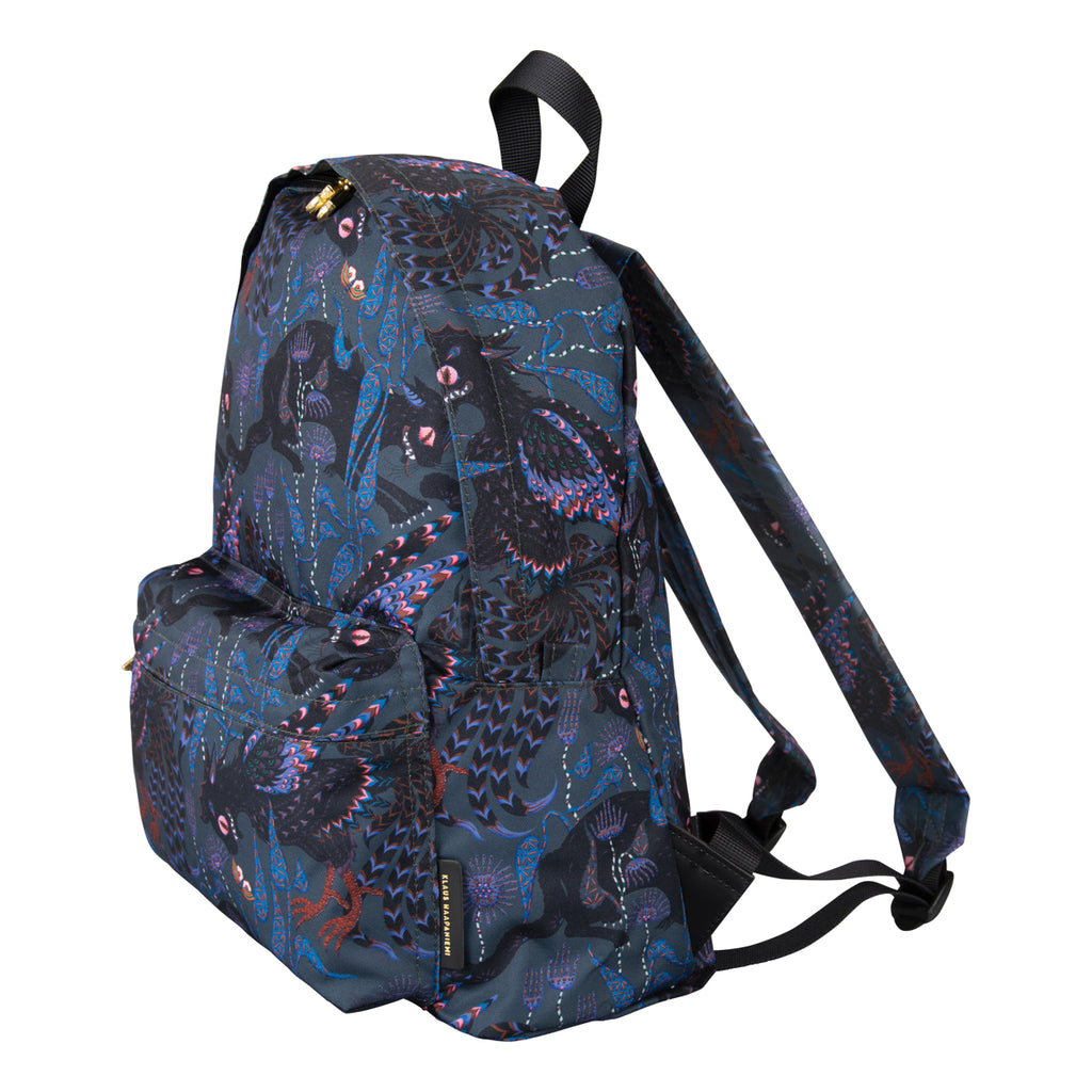 Ferocious Cat Nylon back bag