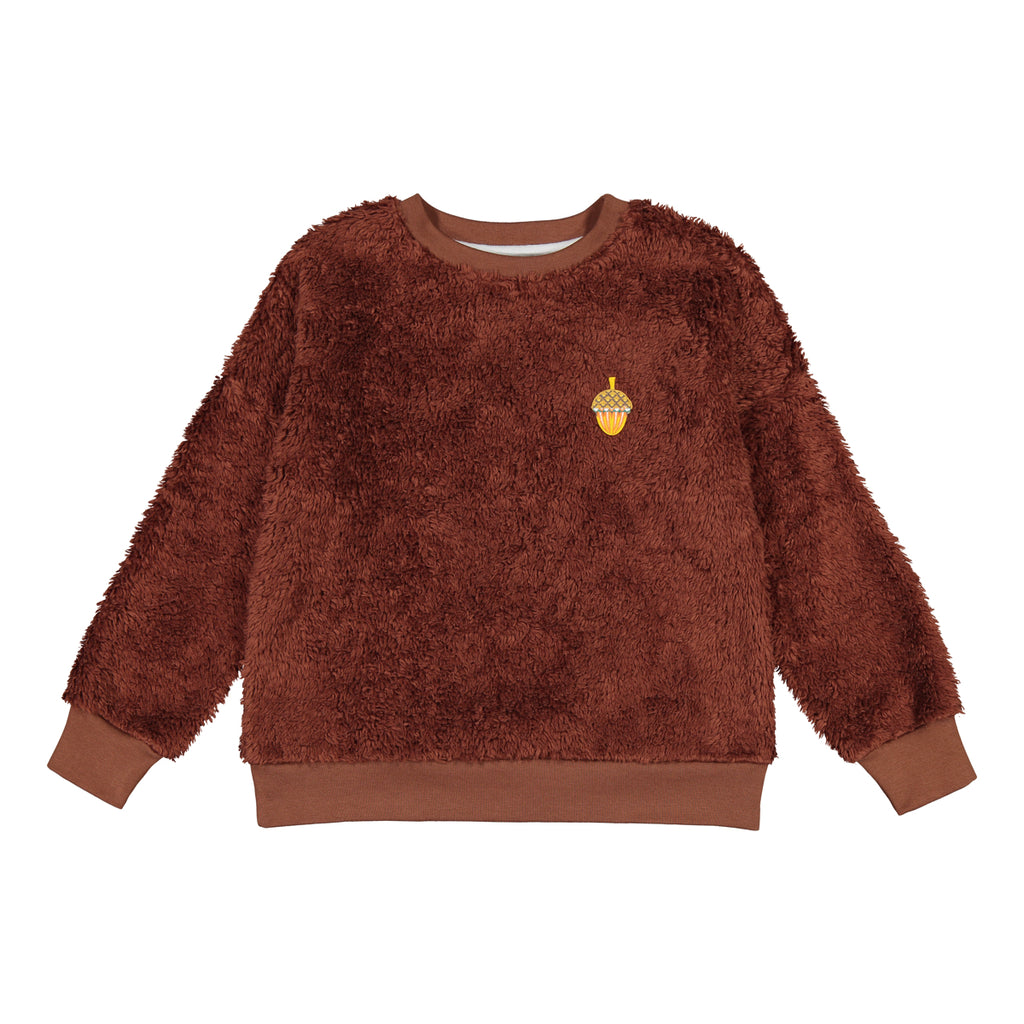 Giants Acorn teddy sweatshirt