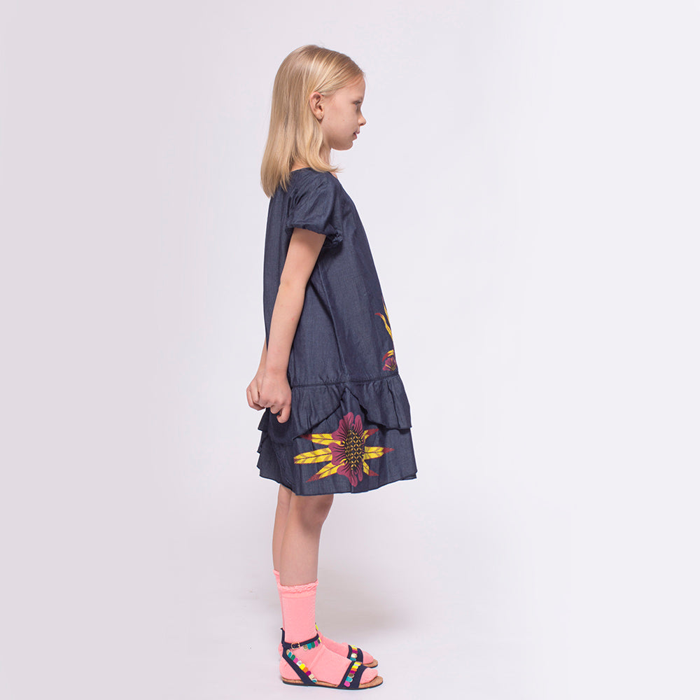 Giants Rabbit Chambray Dress