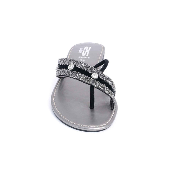 Stylo-Grey Color Casual Chappal CL0416