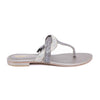 Stylo-Grey Color Fancy Chappal FN0139