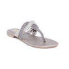 Buy Grey Color Fancy Chappal FN0139 at Shapago