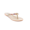 Buy Golden Color Fancy Chappal FN0162 at Shapago
