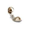 Buy Golden Color Open Fancy Sandal FN4282 at Shapago