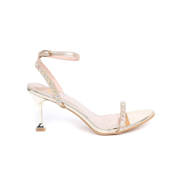 Stylo-Golden Color Formal Sandal FR4285