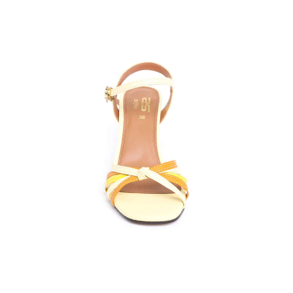 Stylo-Yellow Color Formal Sandal FR4334