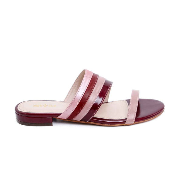Stylo-Maroon Color Formal Slipper FR7362