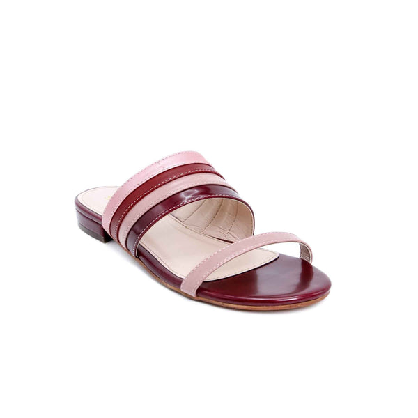 Buy Maroon Color Formal Slipper FR7362 at Shapago