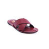 Buy Maroon Color Formal Slipper FR7391 at Shapago