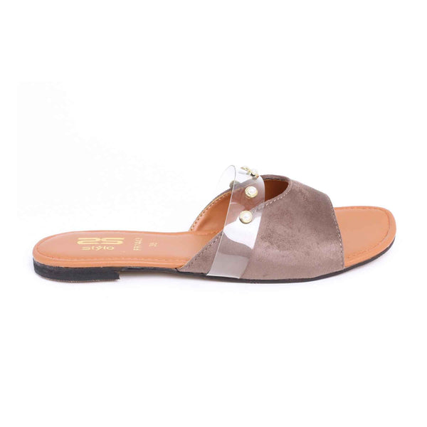 Stylo-Brown Color Formal Slipper FR7443