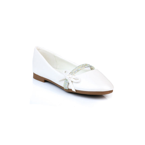 Buy White Color Kids Girls KD3170 at Shapago
