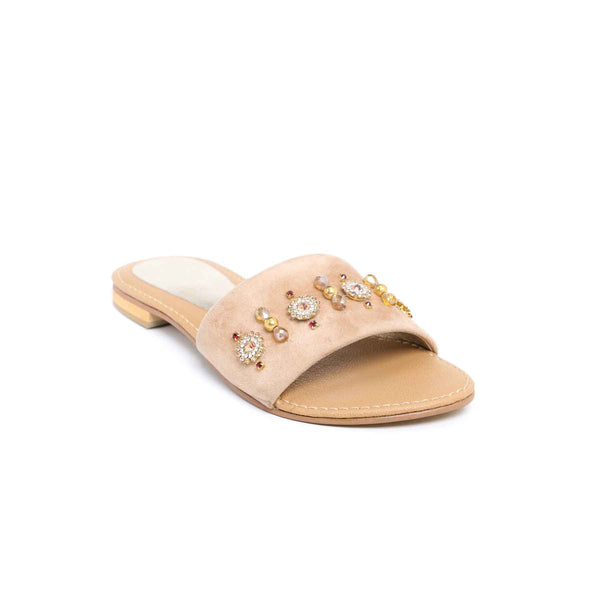 Buy Fawn Color Casual Slipper Girls KD4108 at Shapago