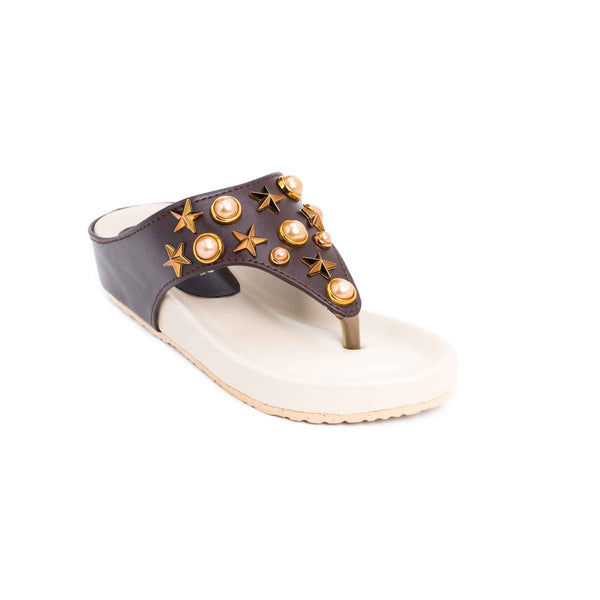Buy Brown Color Kids Girls KD4199 at Shapago