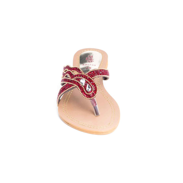 Stylo-Maroon Color Kids Girls KD4233