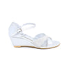 Stylo-Silver Color Fancy Sandal Girls KD6161