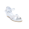Buy Silver Color Fancy Sandal Girls KD6161 at Shapago