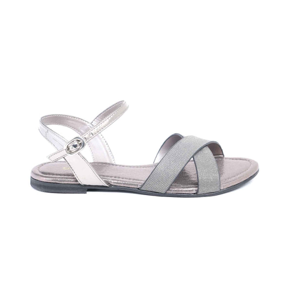 Stylo-Grey Color Fancy Sandal Girls KD6211