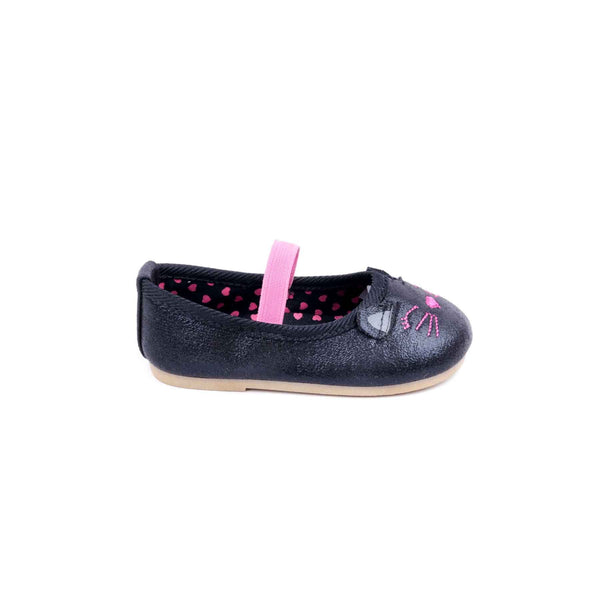 Stylo-Black Color Stylo Baby Booties KD7011