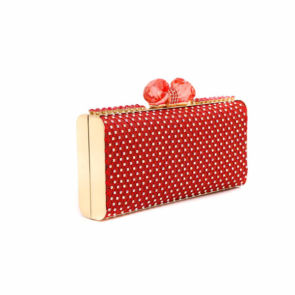 Buy Red Color Bags Clutch P13738 at Shapago
