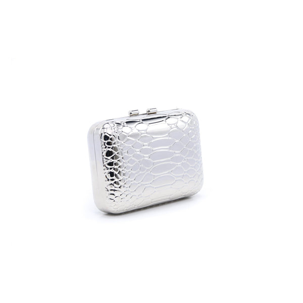 Buy Silver Color Bags Clutch P22977 at Shapago