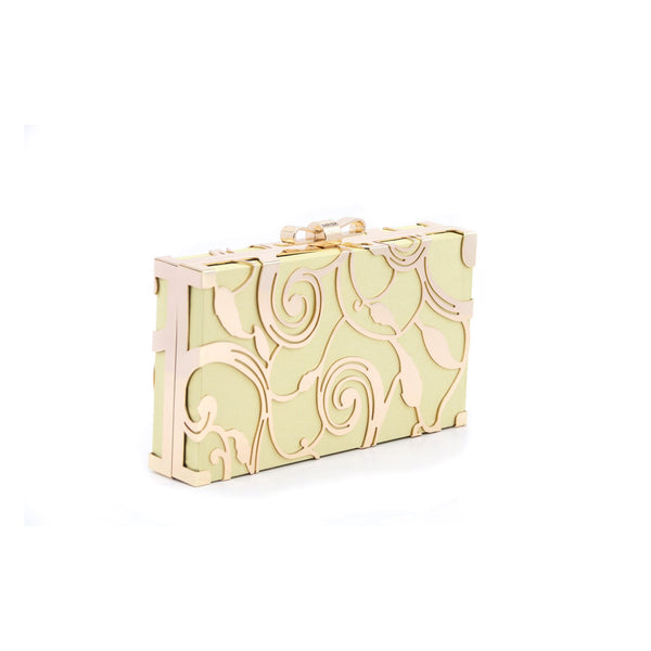 Buy Golden Color Bags Clutch P22980 at Shapago