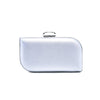 Stylo-Silver Color Bags Clutch P23064