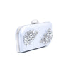 Buy Silver Color Bags Clutch P23064 at Shapago