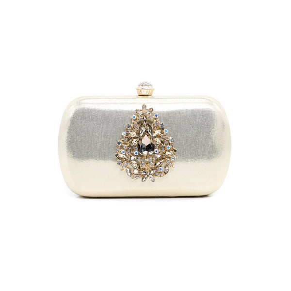Stylo-Golden Color Bags Clutch P23065