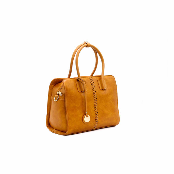 Buy Mustard Color Hand Bags P34582 at Shapago