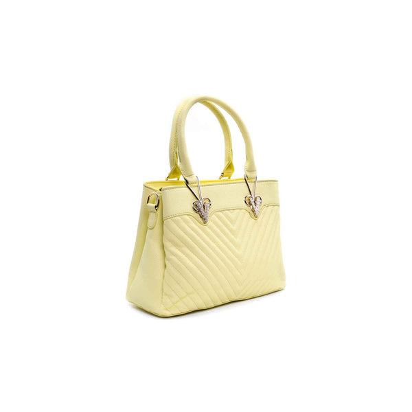 Buy Yellow Color Formal Hand Bags P34719 at Shapago