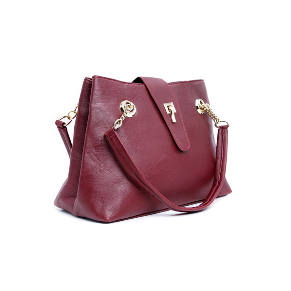Buy Maroon Color Formal Hand Bags P34720 at Shapago