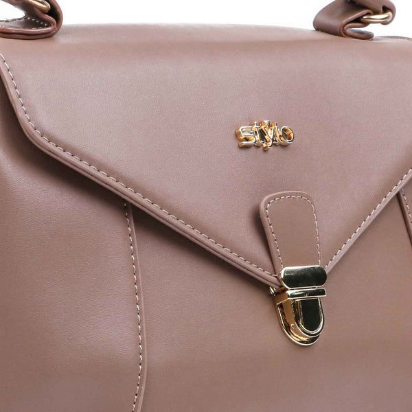 Buy Beige Color Bags Hand Bags P34726 at Shapago