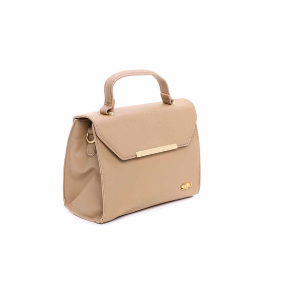 Buy Beige Color Bags Hand Bags P34729 at Shapago