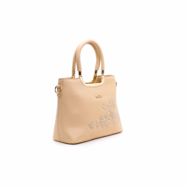 Buy Beige Color Bags Hand Bags P34733 at Shapago
