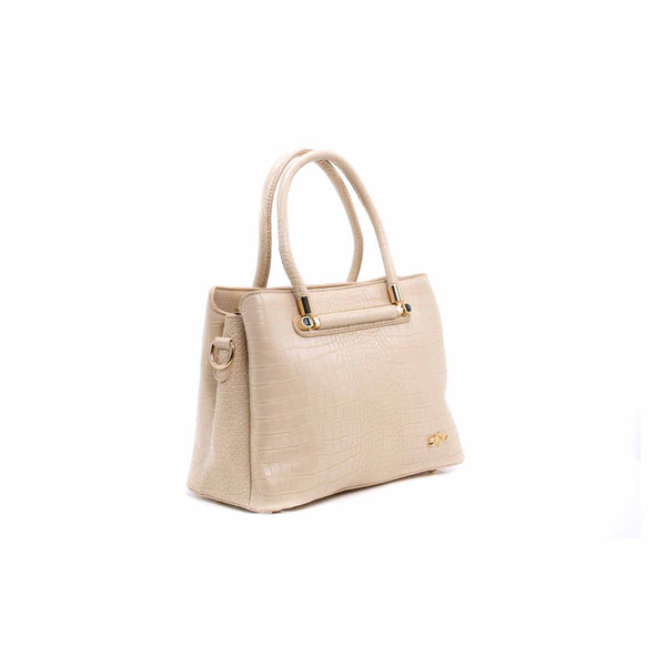 Buy Beige Color Bags Hand Bags P34742 at Shapago