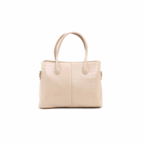 Stylo-Beige Color Bags Hand Bags P34742