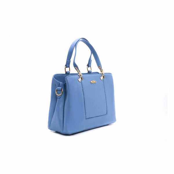 Buy Blue Color Bags Hand Bags P34744 at Shapago