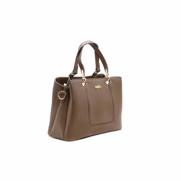 Buy Beige Color Bags Hand Bags P34744 at Shapago