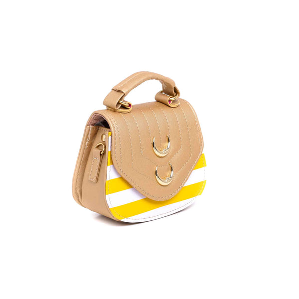 Buy Golden Color Bags Pouch P92099 at Shapago