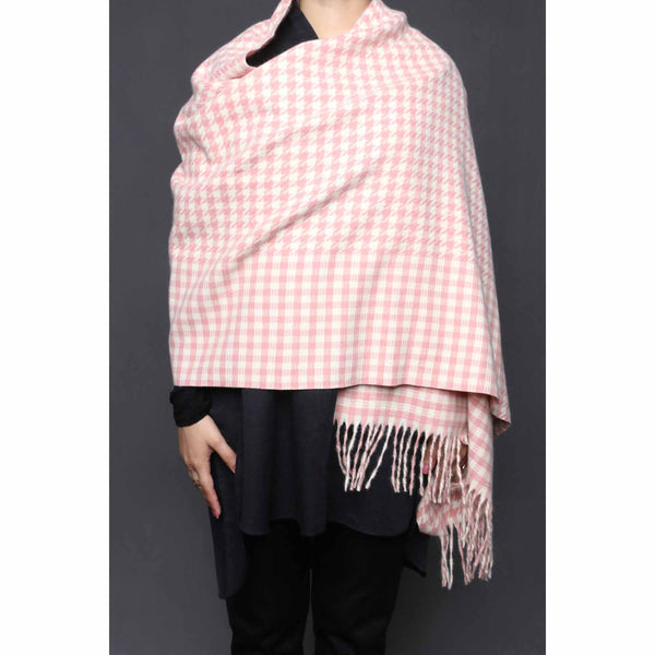 Buy Pink Color Wraps Scarf PW0011 at Shapago
