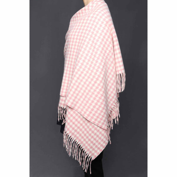 Stylo-Pink Color Wraps Scarf PW0011