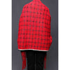 Stylo-Red Color Uppers Cape Shawl PW0025