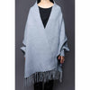 Buy Silver Color Uppers Cape Shawl PW0029 at Shapago