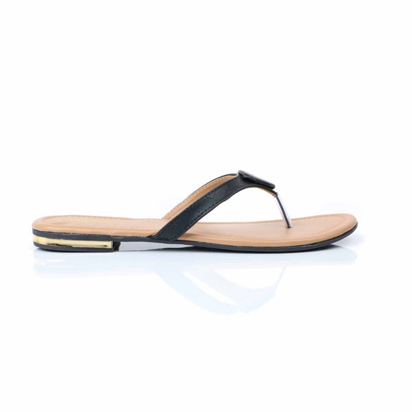 Stylo-Black Color Casual Chappal R30003