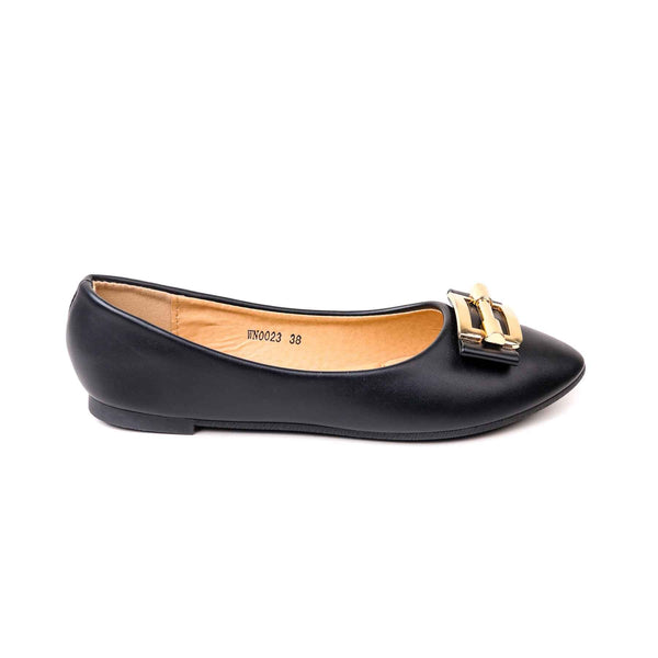 Stylo-Black Color Formal Pumps WN0023