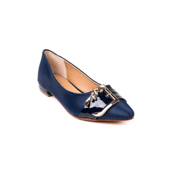 Buy Navy Color Casual Pumps WN0080 at Shapago